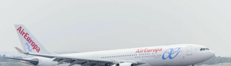 Air Europa Airbus A330 landing