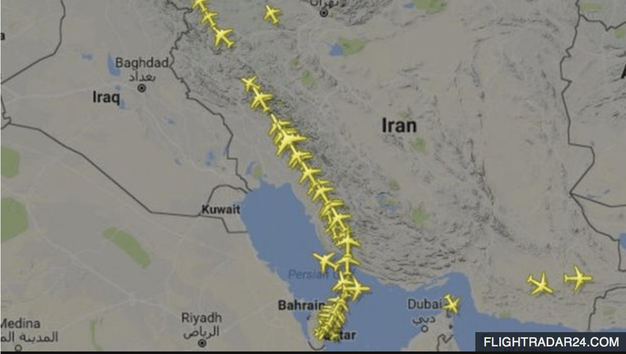 Middle East Airlines suspend flights to Qatar