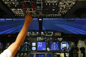 Flight simulator experiences