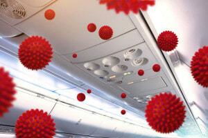 How clean is aircraft air