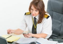How many days do pilots get off a month?
