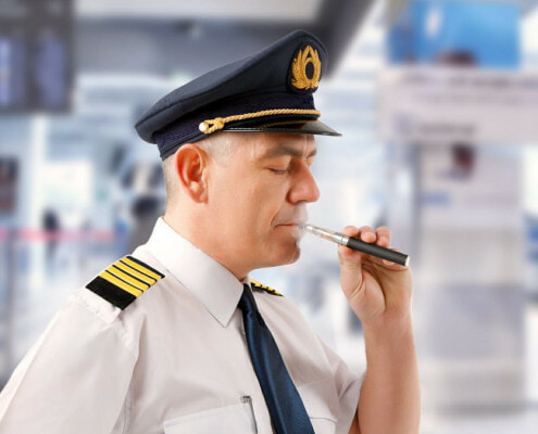 Why can't you vape on a plane?