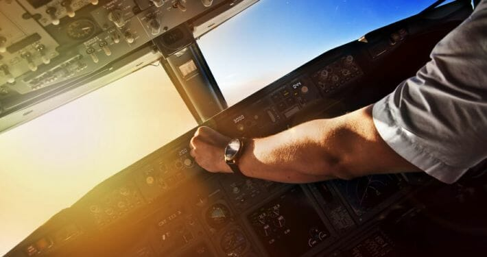 A look at a typical day of a short haul commercial airline pilot