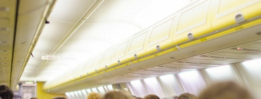A look at why the cabin lights are dimmed for take off and landing